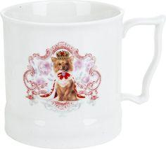 """Кружка Polystar Collection """"Королевские собаки"""", L1120048, белый, коричневый, 485 мл"""