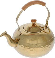 """Чайник """"Bekker"""", с ситечком, цвет: золотистый, 1,8 л"""