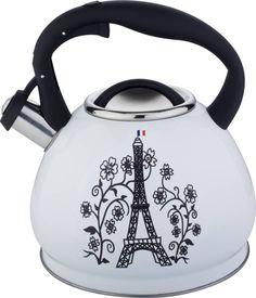 "Чайник Bekker ""Premium"",со свистком, 3 л. BK-S602"