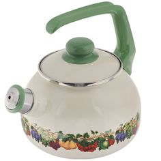 """Чайник Metrot """"Фруктовый сад"""", со свистком, 2,5 л"""