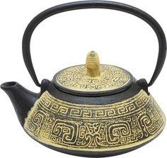 Чайник заварочный Gutenberg Великая Стена, 007834, золотой, 800 мл