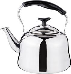 Чайник Agness, 909-604, серебристый, 4 л