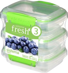Контейнер пищевой Sistema 951523, Пластик