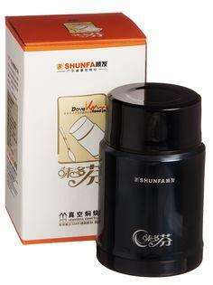 Термос SHUNFA SFWDF398, SFWDF398BLK, черный