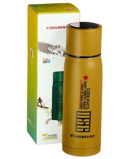 Термос SHUNFA SFYD518, SFYD518Y, оливковый