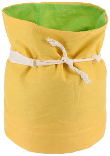 "Мешок Apollo ""Хлебница"", цвет: зеленый, желтый, 18 х 22 см"