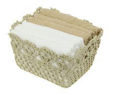 Набор банных полотенец Pastel в подарочной корзине, бежевый