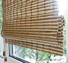 """Римская штора Эскар """"Бамбук"""", цвет: микс, ширина 60 см, высота 160 см"""