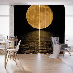 """Шторы с фотопечатью """"Красота ночи"""" из сатена, 290х265 см Joy Arty"""