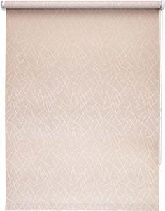 Штора рулонная Уют Джаз, розовый, ширина 100 см, высота 175 см
