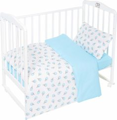 Комплект постельного белья Sweet Baby Gelato, 411958, бирюзовый, 3 предмета