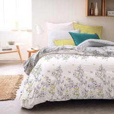 Комплект постельного белья Seta Azalea Satin Falena, 019111285, белый, 1.5 спальный