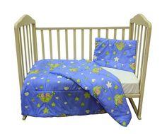 Комплект одеяло и подушки Soft Story Мишки в гамаке