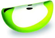 Подушка декоративная антистресс долька Фрукты, зеленый