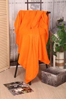 """Плед """"Текстильная лавка"""" П_Ф_гл_150/200_1, оранжевый"""