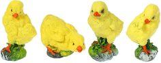 "Набор садовых фигур ""Цыплятки"", 15 х 20 х 15 см, 4 шт Хорошие сувениры"