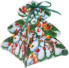 """Коробка подарочная Дарите Счастье """"Новогодний сюрприз"""", сборная, фигурная, 12 х 8 х 8 см"""