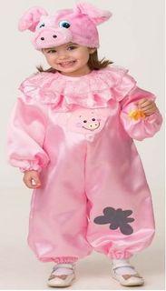 """Карнавальный костюм Батик """"Поросёнок Наф"""", цвет: розовый. Размер: 32"""
