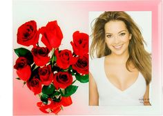 Фоторамка Букет роз, 480462, 22,5 х 17 х 1,5 см Иу Жусима Крафтс Кампани Лимитед