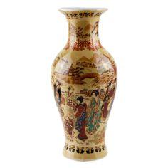 Ваза в китайском стиле. Фарфор, роспись. Китай, вторая половина XX века. Antik Hobby