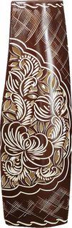 """Ваза Керамика ручной работы """"Ника"""", 2733491, коричневый"""