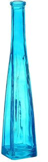 """Ваза Evis """"Стрелка"""", 905927, голубой, 5,5 х 5,5 х 29 см"""