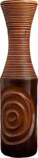 """Ваза """"Бесконечность"""", 3257165, коричневый, 10 х 10 х 40 см Songpitak Export Company Ltd"""