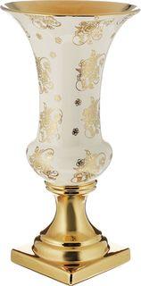 Ваза Lefard, 763-076, золотистый, 25 х 25 х 48 см