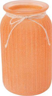 Ваза декоративная Magic Home Оранжевая, 79208, оранжевый