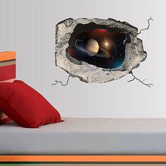 """Украшение для стен и предметов интерьера с 3D эффектом Hole """"Космос"""" Nisha"""