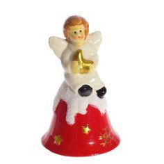 """Колокольчик-сувенир Triumph Xmas """"Ангелочек со звездочкой"""", TXRK-236501, 14 см"""