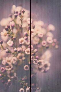 Картина Экорамка НЕЖНЫЕ ЦВЕТЫ 40x60 см, Дерево