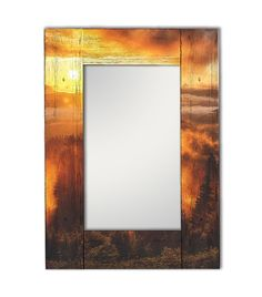 Зеркало интерьерное Дом Корлеоне Зеркало настенное Шервуд 55 х 55 см