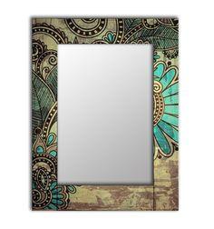 Зеркало интерьерное Дом Корлеоне Зеркало настенное Дейзи 55 х 55 см