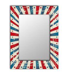Зеркало интерьерное Дом Корлеоне Зеркало настенное Звезда 65 х 80 см