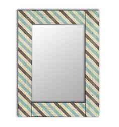 Зеркало интерьерное Дом Корлеоне Зеркало настенное Лайнс 80 х 80 см