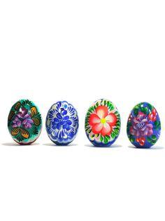 Яйцо пасхальное Taowa Пасхальные сувениры (окрашенные яйца)., белый, синий