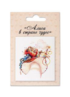 Магнит Dressing Литературные сувениры, слоновая кость
