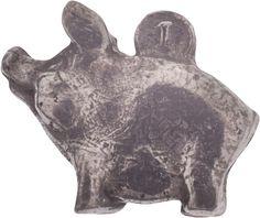 Денежный сувенир Miland Кошельковая свинка, Т-6972, серебристый
