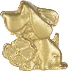 Денежный сувенир Miland Кошельковый дружок с клевером, Т-6945, золотой