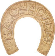 Денежный сувенир Miland Подкова На удачу, Т-6951, золотой