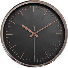 """Часы настенные """"Innova"""", цвет: розовый, черный, диаметр 30 см. W09643"""