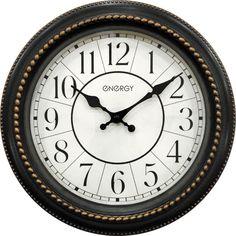 Часы настенные Energy ЕС-118, 54 009492, коричневый