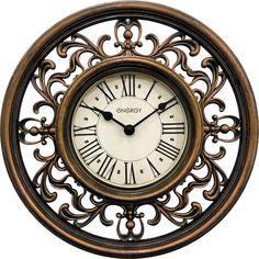 Часы настенные Energy ЕС-120, 54 009494, коричневый