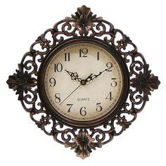 """Настенные часы """"Жанна"""", 3096867, коричневый"""