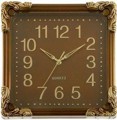 """Настенные часы """"Камила"""", 2586603, коричневый"""