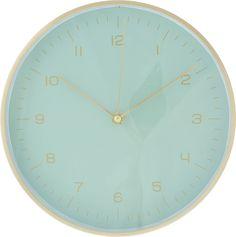 Часы настенные Magic Home, 79649, зеленый, 24,8 х 4,2 см