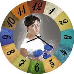 Настенные часы Kitch Clock 3002117
