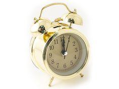 """Часы настольные """"Эврика"""", цвет: золотистый, диаметр 7 см"""