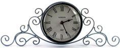 """Часы настольные """"Miralight"""", цвет: серый. ML-5111"""